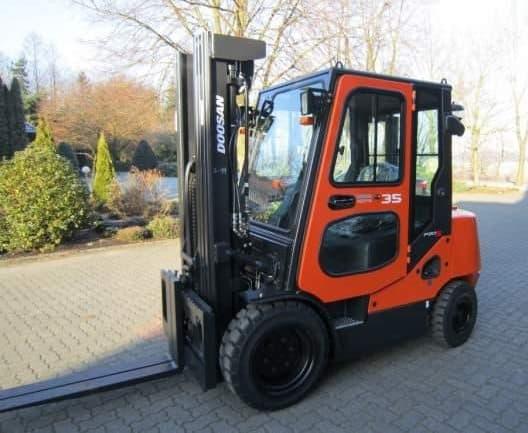 Begagnad dieseltruck 3,5 ton 3500 kg