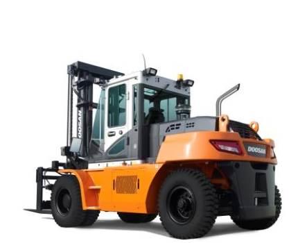 Doosan dieseltruck 16 ton