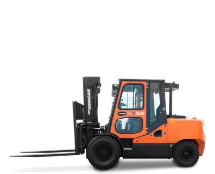 Doosan dieseltruck 5 ton