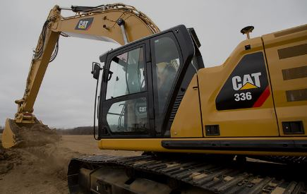 Service Caterpillar grävmaskin