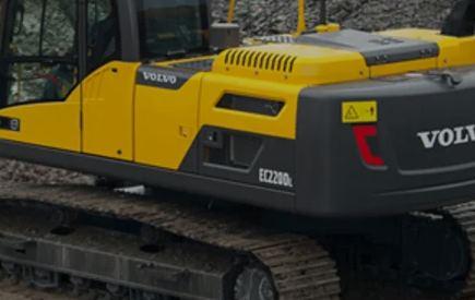 Service Volvo grävmaskin