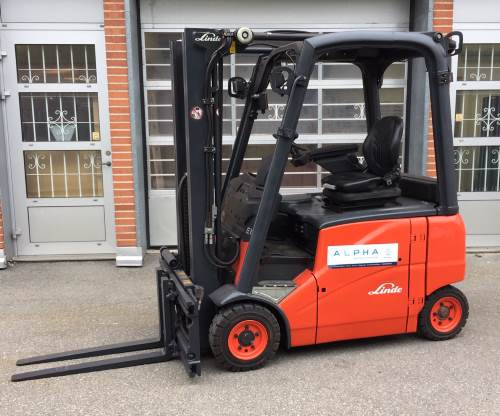 Linde E16 begagnad hyra truck