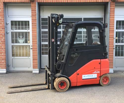 Linde E20 begagnad hyra truck