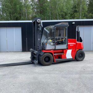 Begagnad dieseltruck Kalmar 8 ton